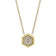 G18K钻石套链