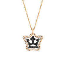 Crown 皇冠-鉆石項鏈