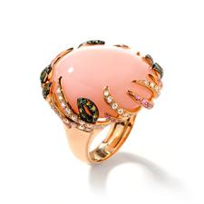 G18K钻石戒指